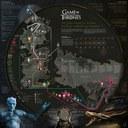 Trónok harca: a térkép